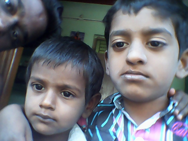 Stanley and his younger brother Surya