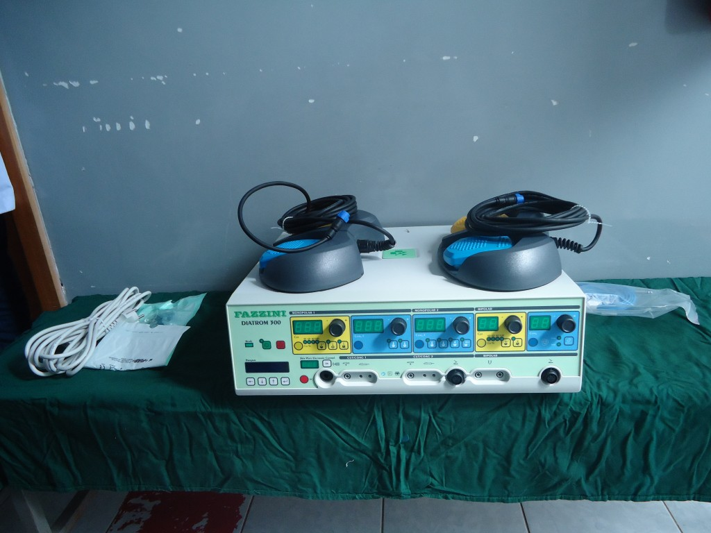 New surgical equipment: electrosurgery machine