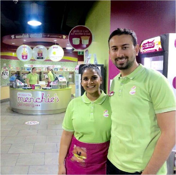 Menchies College Street Owners, Carolyn & Ali