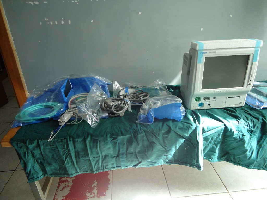New surgical equipment: patient monitor